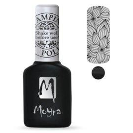 Moyra Stamping Gel Polish sgp01 Black