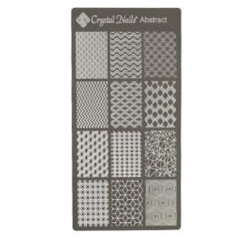CN Nail Stamp Templates Abstract