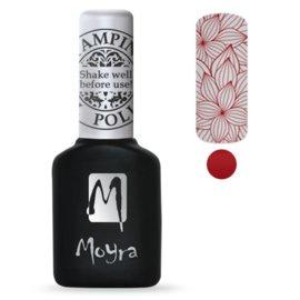 Moyra Stamping Gel Polish sgp06 Red