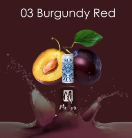 Moyra Stamping Nail Polish sp03 Burgundy Red
