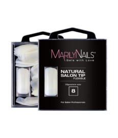 MN Salon Naturel Tips Refill 8    50st