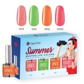CN 2017 Bestseller Colors Summer One Step kit