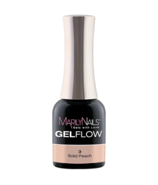 MN Gel Flow Solid Peach #3  7ml
