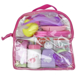 Designed by Berenguer doll Complements 33 to 43 cm - Bag with accessories