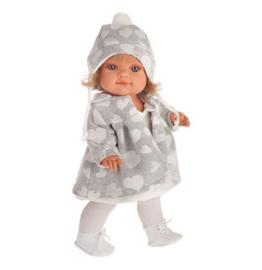 Farita with gray coat