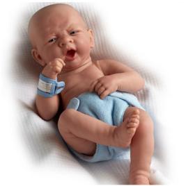 Berenguer Boutique- La newborn boy