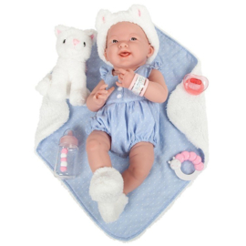 Berenguer Boutique doll 38 cm - 18062 La newborn (girl)