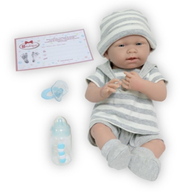 Berenguer Boutique doll 38 cm - 18519 La newborn (boy)