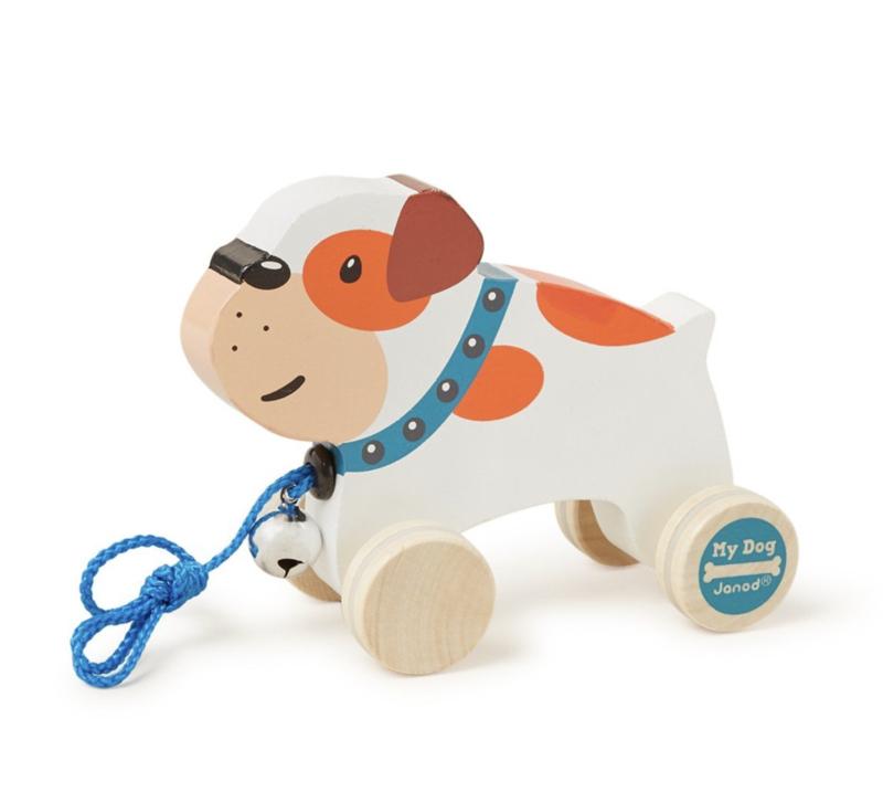 Janod My Dog bulldog trekfiguur