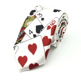 Carnaval & Feest Stropdas Speelkaarten 'Poker'