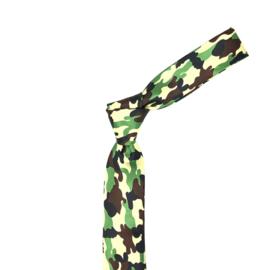 Stropdas Leger Camouflage
