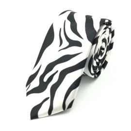 Carnaval & Feest Stropdas Zebra