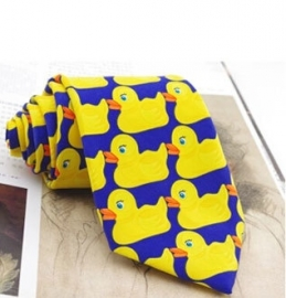 Barney Stinson Rubber Duck Tie