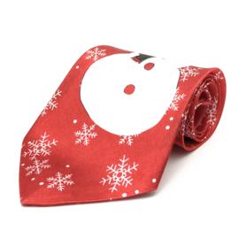 Kerst Stropdas Sneeuwpop