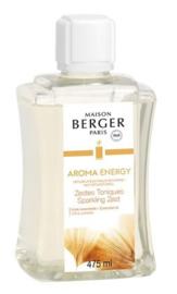 Aroma Energy (Sparkling Zest 475ml  Navulling Mist diffuser