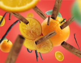 Parfumverspreider Orange de Cannelle 200ml Navulling