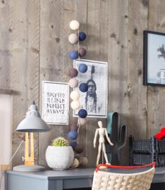 Steel Blue Lichtslinger 35 lampjes