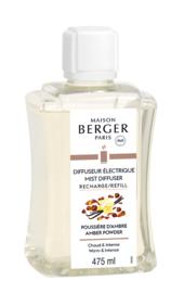 Amber Powder 475 ml Navulling Mist Diffuser