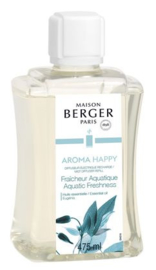 Aroma Happy (Aquatic Freshness 475 ml Navulling Mist Diffuser