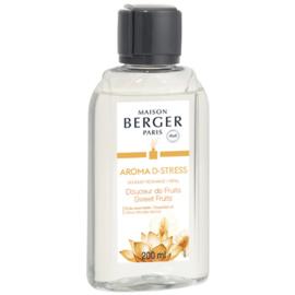 Navulling 200 ml Aroma D-Stress  Parfumverspreider