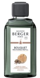 Navulling Parfumverspreider Virginia Cedarwood 200 ml
