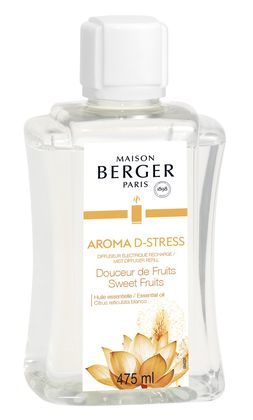 Aroma D- Stress (Sweet Fruits 475ml  Navulling Mist diffuser