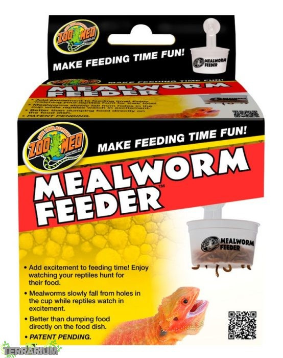 Zoomed Hangende Meelworm Feeder