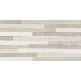 Wandtegels Pierre Grey Decor 30x60 rett