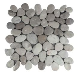 Riverstone pebble kiezelvloer violet