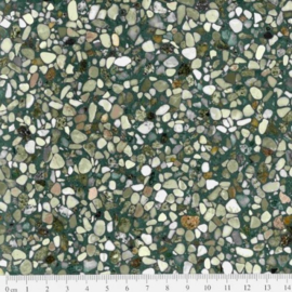 Terrazzo tegels kleur: BLACK (FENICE) ook bekend als Firenze