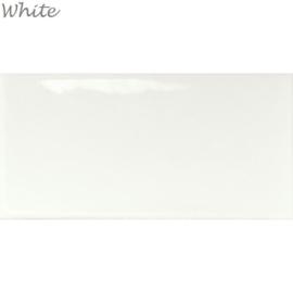 Wandtegels Century 7,5x15 White
