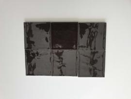 Zelliges Noir 10x10 cm