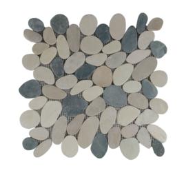 Grau Grün Flat Riverstone
