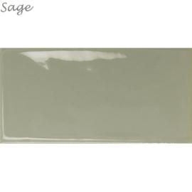Wandtegels Century 7,5x15 Sage