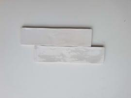 Zelliges  Blanc de Lin 6,2 x 25 cm
