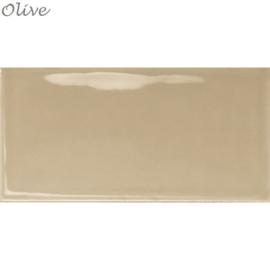 Wandtegels Century 7,5x15 Olive