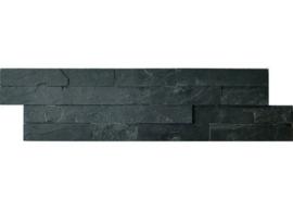 Stonepanel Schiste flatface antraciet slate 15x60x1/2