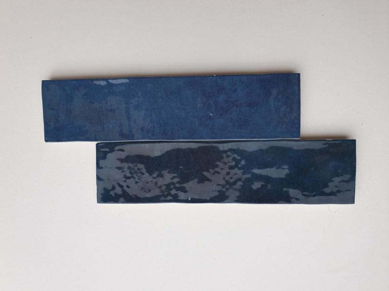 Zelliges  Bleu Marine 6,2 x 25 cm