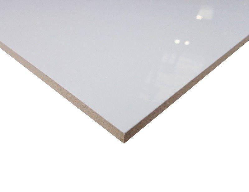 Wandtegels wit glans gerectificeerd 30x60
