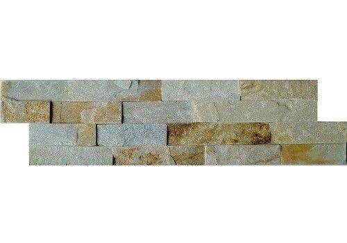 Stonepanel Schiste flatface beige slate 15x60x1/2