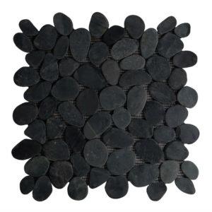 Riverstone pebble flat kiezelvloer grijs