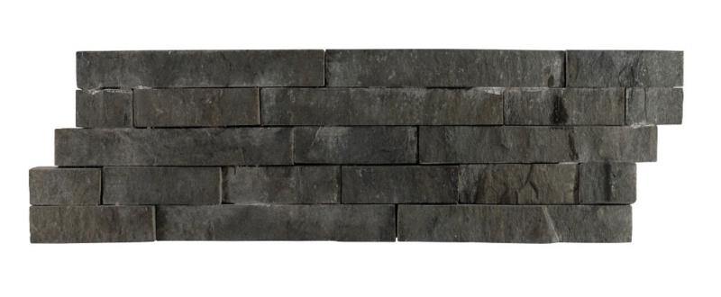 Marmer wandbekleding / WALL CLADDING03 GRAY BLACK ANDESITE 10×50