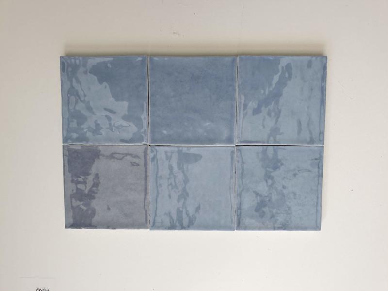 Zelliges Bleu Lumiere 10x10 cm
