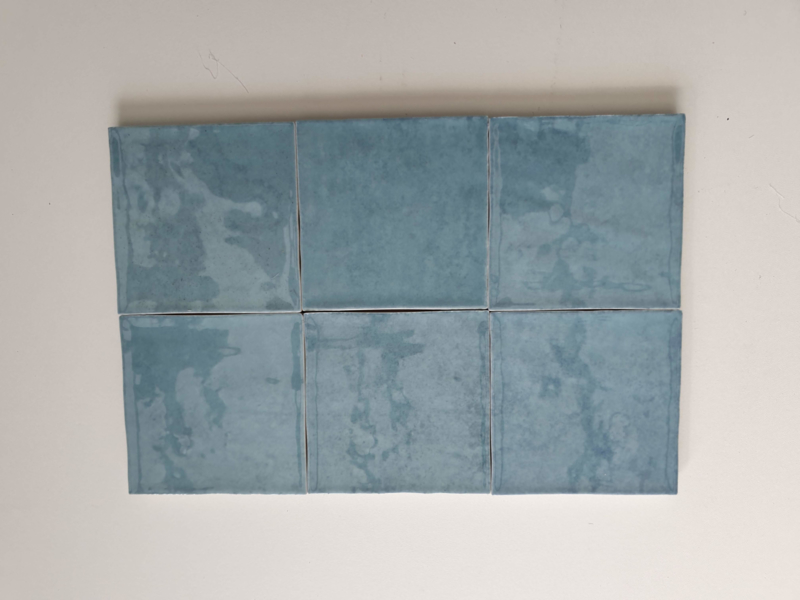 Zelliges Turquoise 10x10 cm
