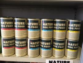 Nature Dog food (blik 400 gram)