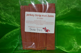 Jerkey strips (kip, zalm of lam)