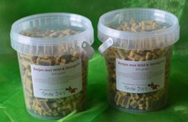Botjes met wild & gevogelte, lam & rijst of zalm & rijst