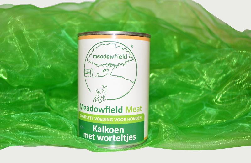 Dog Delicatesse Kalkoen met worteltjes (granen en gluten vrij)