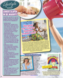 """Publicatie """"IJsjesgeluk"""" in tijdschrift de Party"""