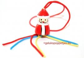 Kerstkaart met bedrijfsnaam en logo